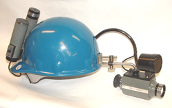 FIND-R-SCOPE Helmet-Mounted Infrared Viewer with IR Light Source Model 85051